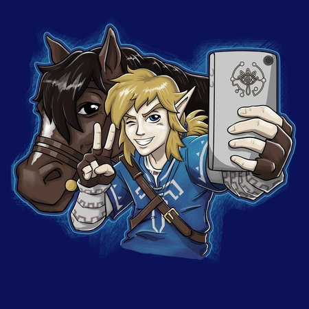 Hylian Selfie (Colab With Andriu) T-Shirt