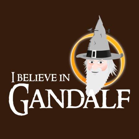 I Believe In Gandalf T-Shirt