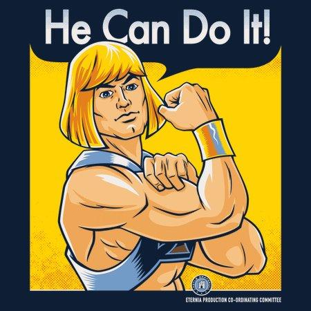 He Can Do It! T-Shirt