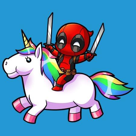 Image result for deadpool unicorn