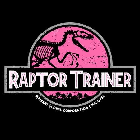 Raptor Trainer – Pink T-Shirt