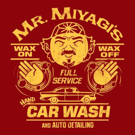 Wax On Wax Off Car Wash T-Shirt