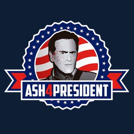 #Ash4President T-Shirt