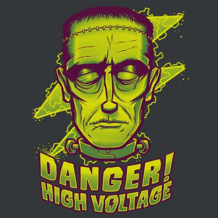 Classic Halloween: The Frankenstein Creature T-Shirt