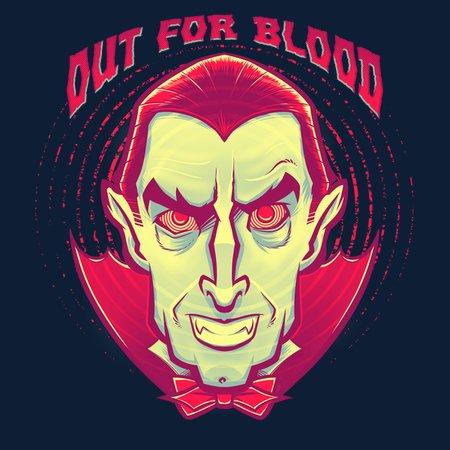 Classic Halloween: Dracula, The Dark Lord Of Vampires T-Shirt