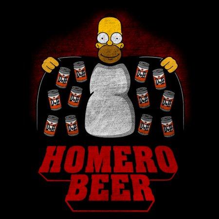 Homero Beer T-Shirt