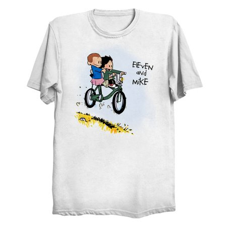 Eleven and Mike - Stranger Things Tees