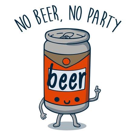 No Beer, No Party T-Shirt