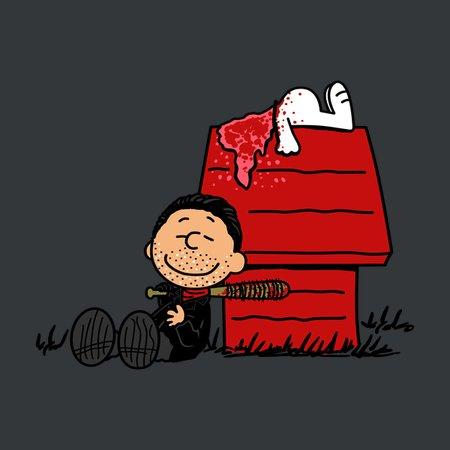 Negan Brown T-Shirt