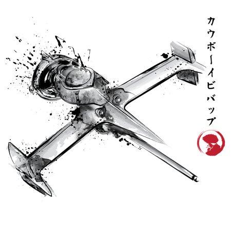 Mono Racer Sumi-E T-Shirt thumbnail