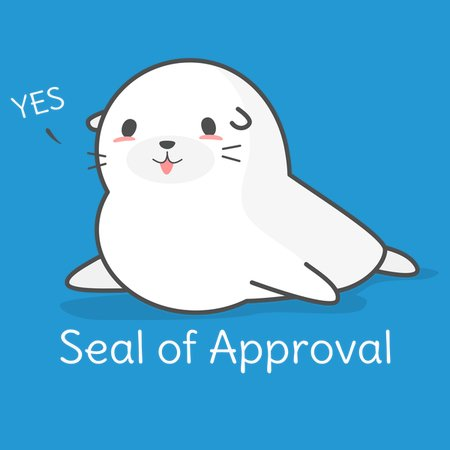 seal of approval funny joke neatoshop