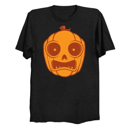Frightened Jack-O-Lantern - NeatoShop
