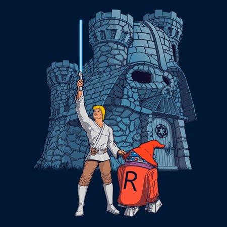 Dathskull Castle T-Shirt