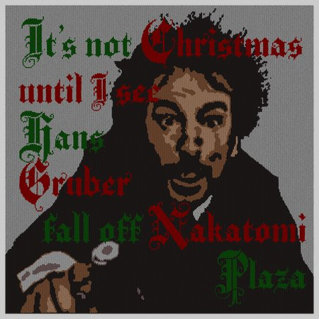 A Die Gruber Christmas Sweater - NeatoShop