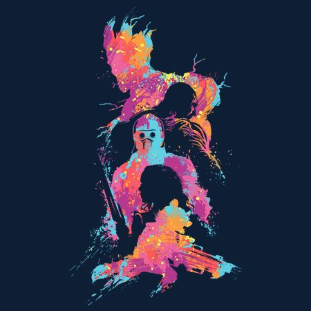 Abstract Guardians T-Shirt