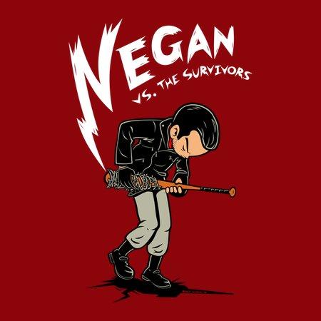 Negan Vs. The Survivors T-Shirt