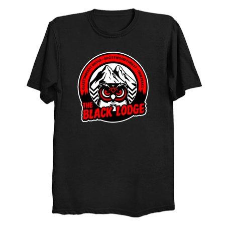 Owl Logo Twin Peaks T-Shirts