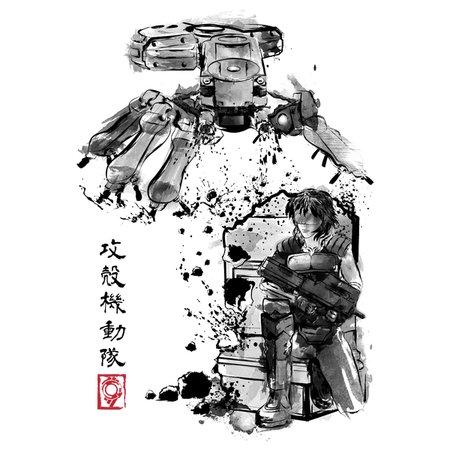 Major Vs Tank Sumi-E T-Shirt