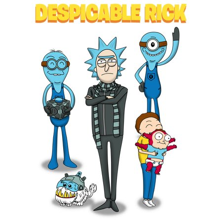 Despicable Rick T-Shirt