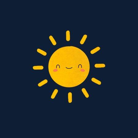 ed33dfcbb15 Happy Sun Is Kawaii and Cute - NeatoShop