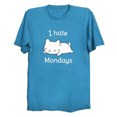 i hate mondays cute cat neatoshop