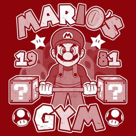 Mario Gym T-Shirt