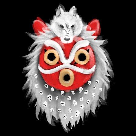 Wolf Goddess T-Shirt