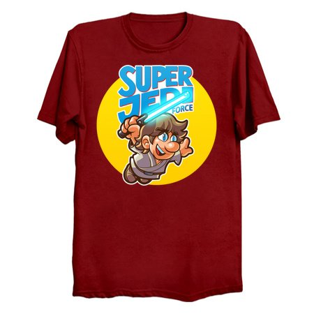 Super Jedi Force - Luke Skywalker T-Shirts