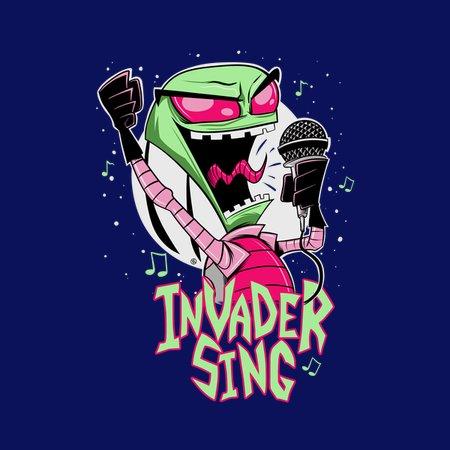 Invader Sing T-Shirt