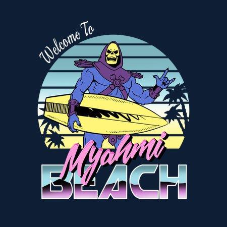 Myah'mi Beach T-Shirt