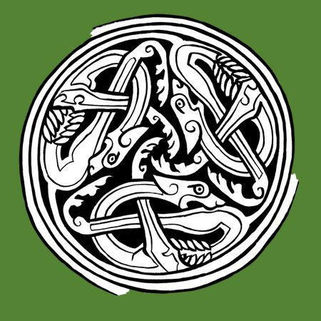 Celtic Art Dog Triskele V2 Neatoshop