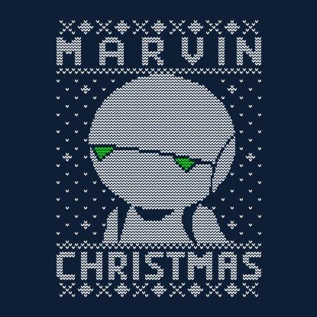 Marvin Christmas T-Shirt