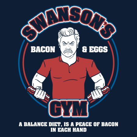 Swansons Gym T-Shirt