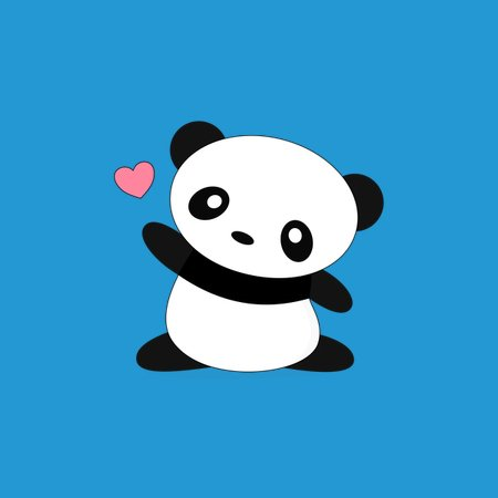 Chasing Hearts Kawaii Cute Panda Neatoshop