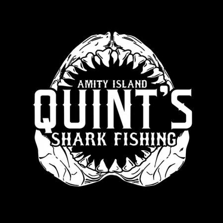 Shark fishing amity island neatoshop for Jawbone fishing shirts