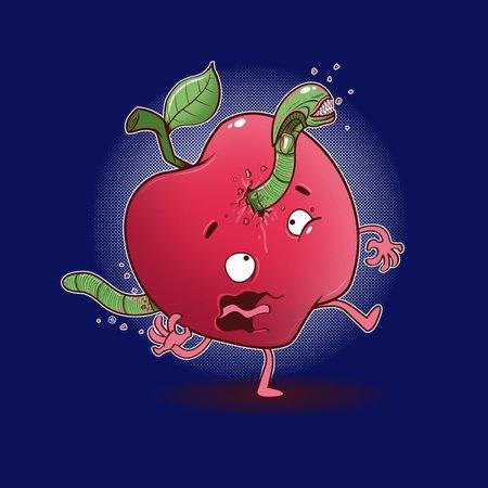 Apple Alien T-Shirt