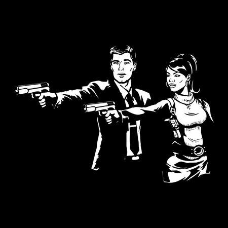 Spy Fiction T-Shirt