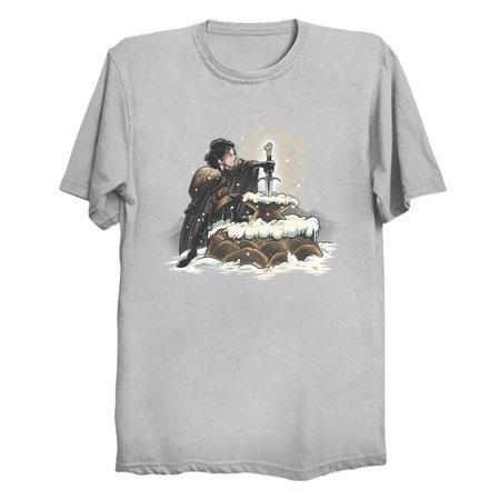 The North Remembers - Jon Snow GoT Parody Tee