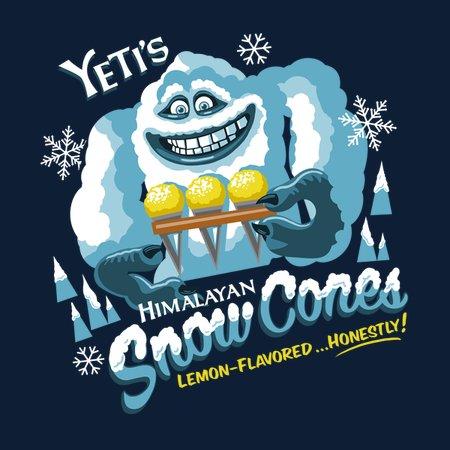 Yellow Snow Cones T-Shirt