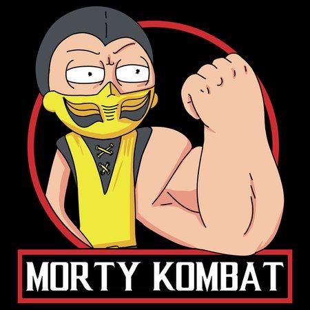 Morty Kombat T-Shirt