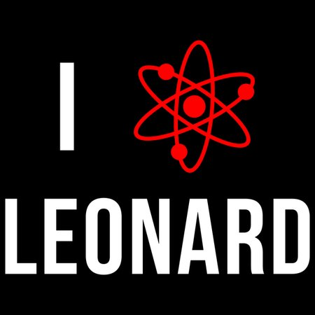 I Heart Leonard T-Shirt