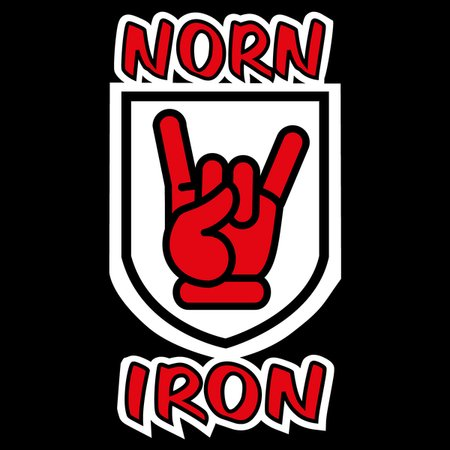 Norn Iron Northern Ireland Red Hand Of Ulster Devil Horns