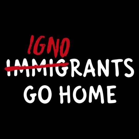 Ignorants Go Home T-Shirt