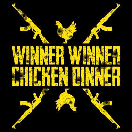 eff8e73e5cd5 Winner winner chicken dinner PUBG - NeatoShop