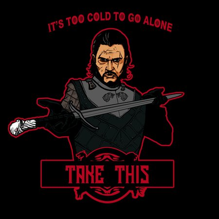 Too Cold To Go Alone T-Shirt