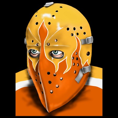 Philadelphia Vintage Hockey Goalie Mask Neatoshop