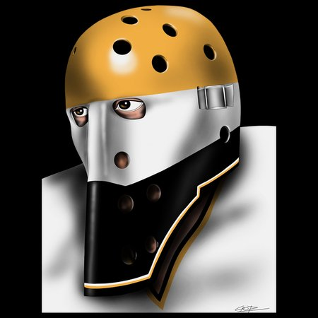 Pittsburgh Vintage Hockey Goalie Mask Neatoshop