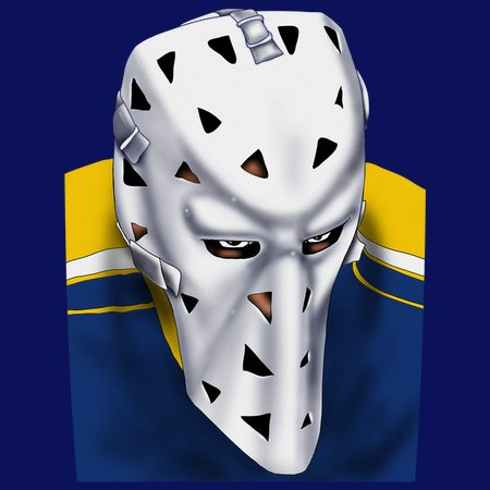 St Louis Vintage Hockey Goalie Mask Neatoshop