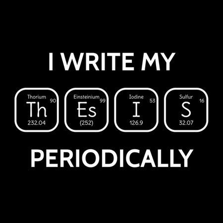 Thesis write my