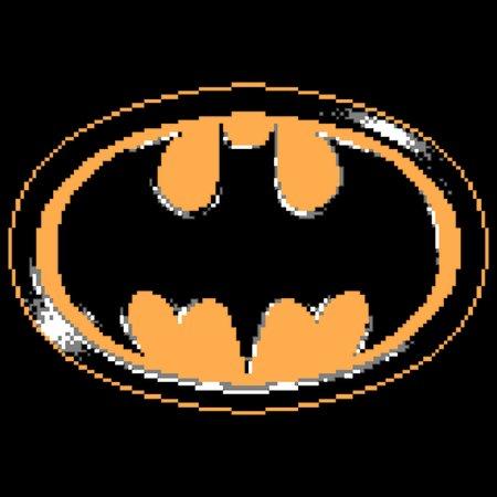 The Bat Symbol 8bits Of Jusice Neatoshop